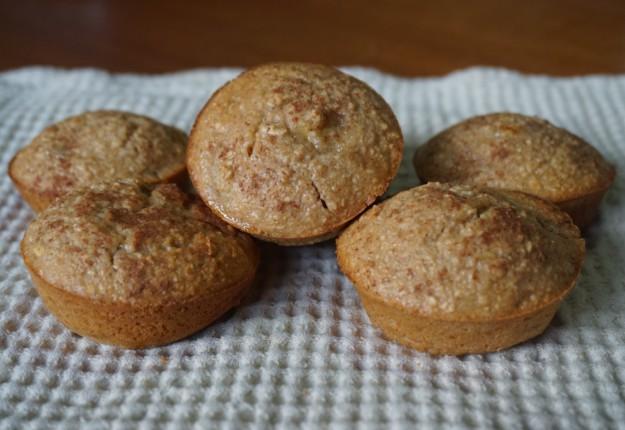 Guilt-free banana oat muffins