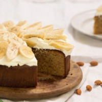 Flourless White Chocolate Almond Cake