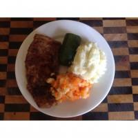 Home made schnitzel