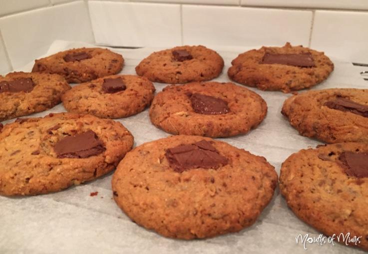 Choc Caramel Cookies
