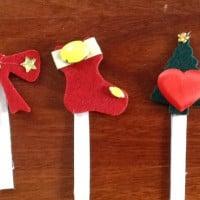 Christmas pop sticks