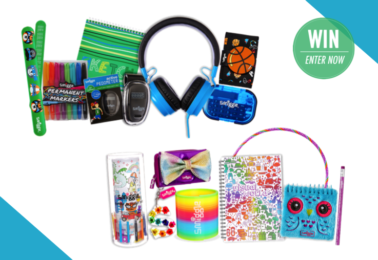Win A Holiday Fun Prize Pack From Smiggle Competition