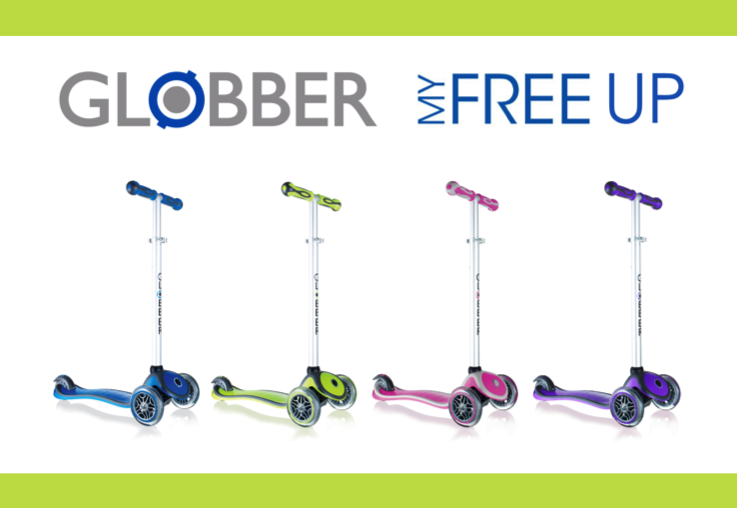 WIN 1 of 4 Globber MyFree UP scooters