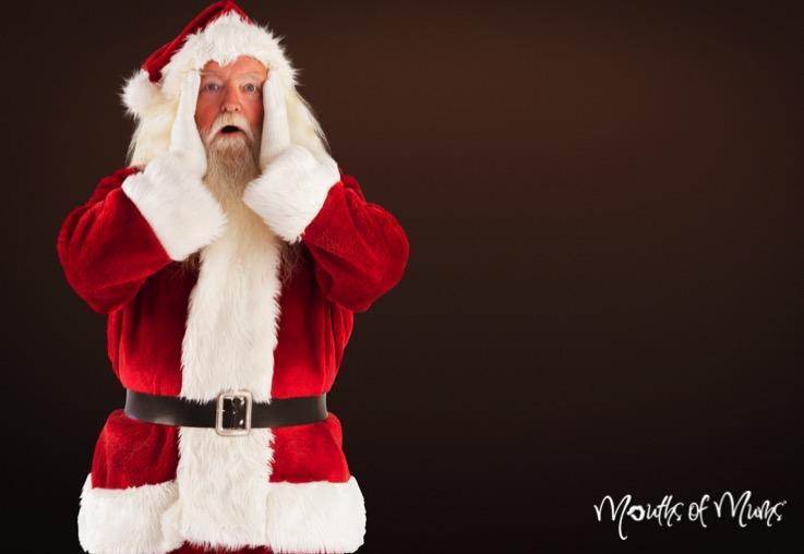 Young boy fat shamed by Santa