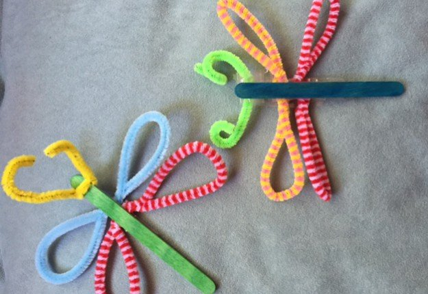 How To Fix A Dishwasher >> Paddle pop stick dragonflies - Arts, Crafts and DIY