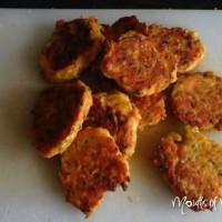 Veggie kota patties for fussy eaters