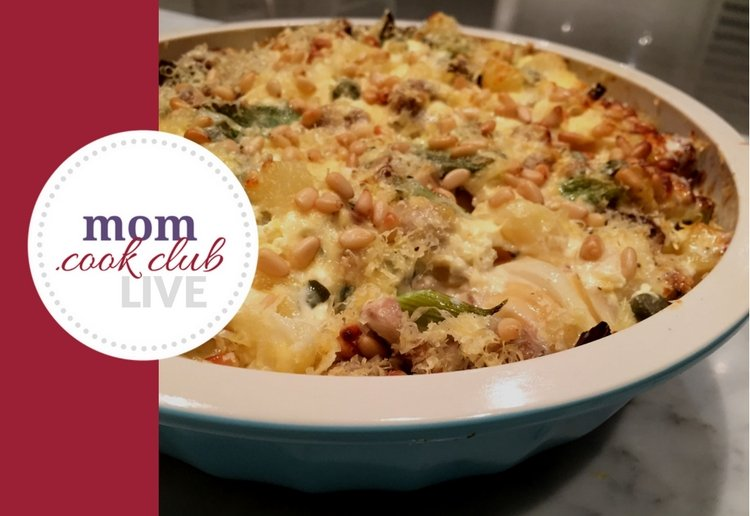 Best Ever Potato Bake with Mushrooms
