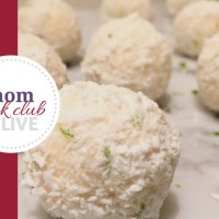 Lime and Coconut Cheesecake Balls