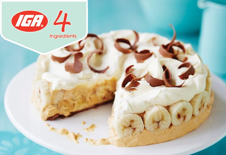 Banoffee Ice-Cream Pie