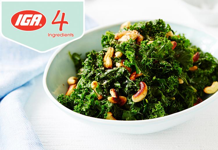 Kale & Cashew Salad