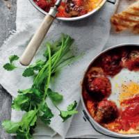 Egg & Meatball Shakshouka