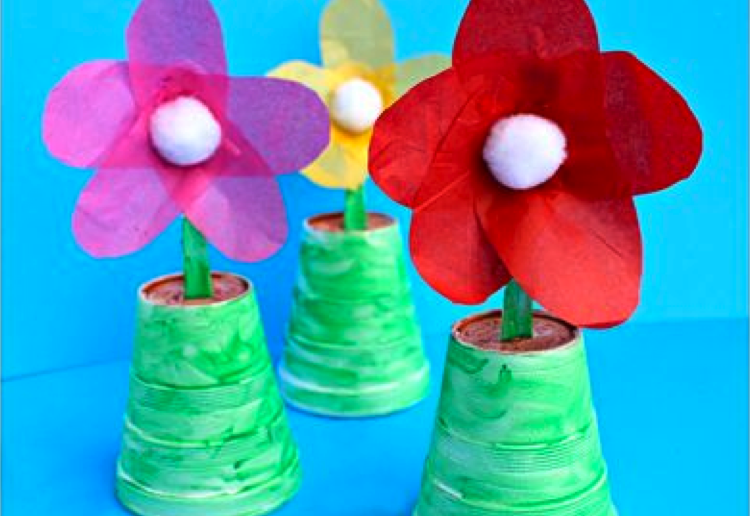 10 Mothers Day Crafts Dad Can Make With The Kids Mouths Of Mums