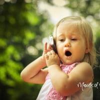 Toddler saves mums life using Siri