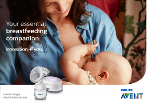 Philips Avent Comfort Single Electric Breast Pump_main image_750x516