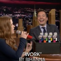 FUNNY VIDEO: Box of Microphones With Amy Adams