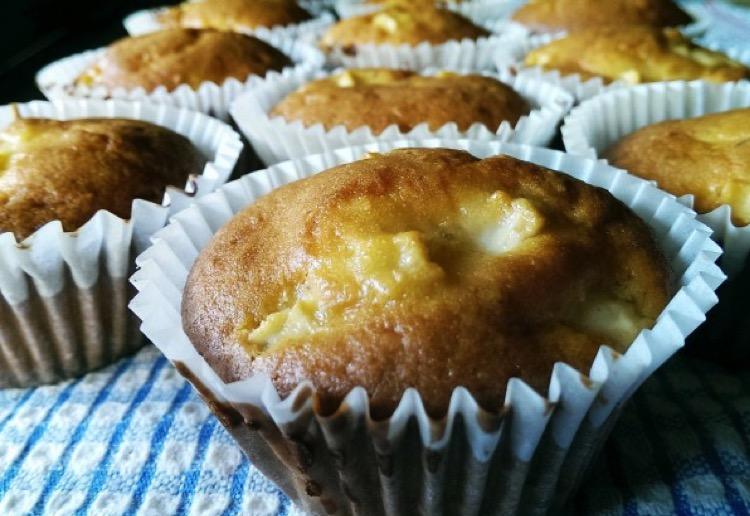 Apple LSA muffins