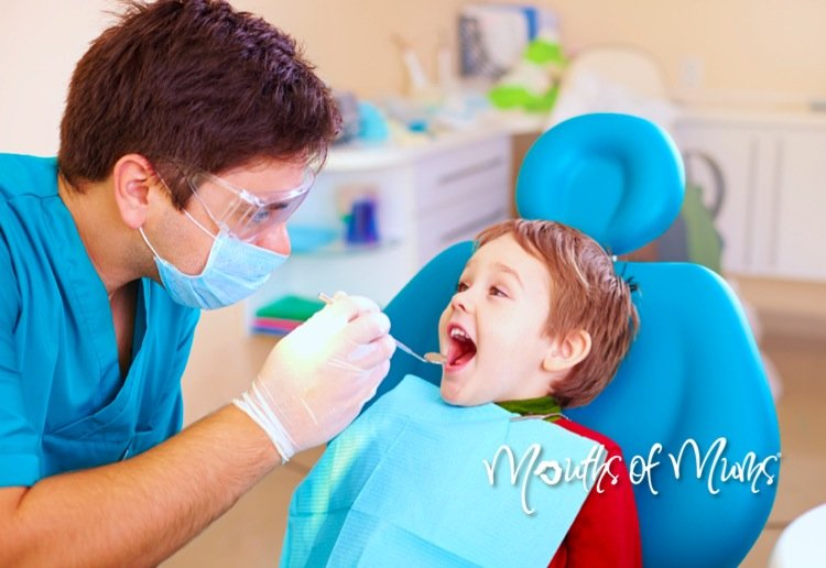 Taking your child to the dentist for the first time