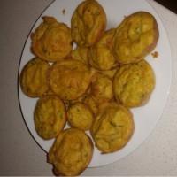 Dairy and egg free veggie muffins