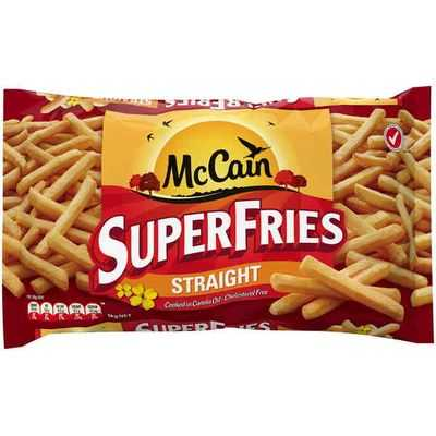 Mccain Straight Cut Superfries Canola