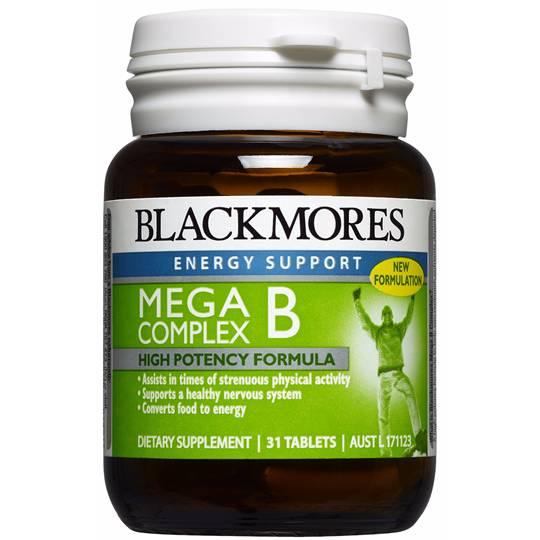 Blackmores Mega B Complex Tablets