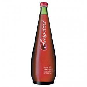 Grapetiser Sparkling Red Grape Juice