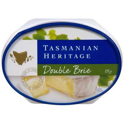 mom160421 reviewed Tasmanian Heritage Double Brie Cheese
