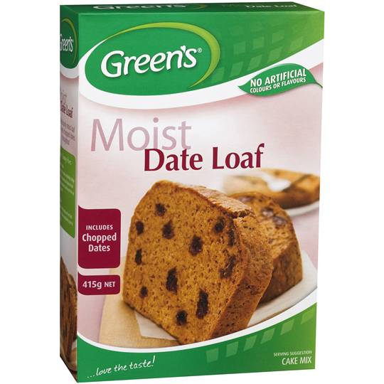 mom322089 reviewed Greens Cake Mix Traditional Date Loaf