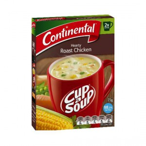 Continental Cup A Soup Hearty Roast Chicken