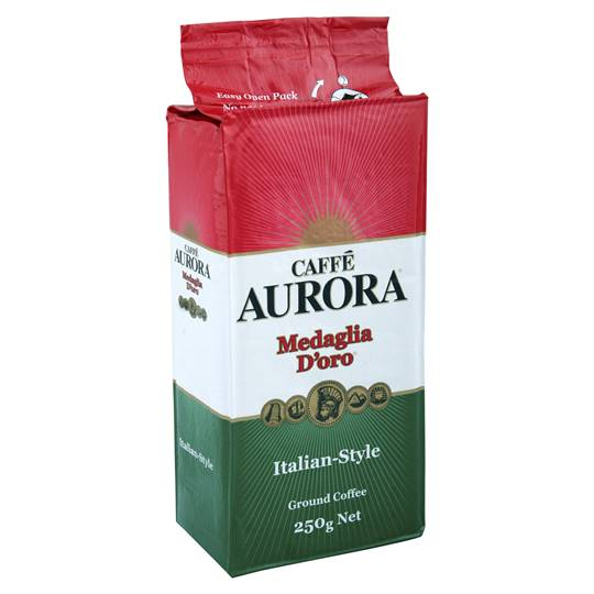 Aurora italian style ground coffee ratings mouths of mums for Aurora italian cuisine