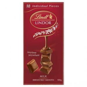 Lindt Lindor Chocolate Block Milk