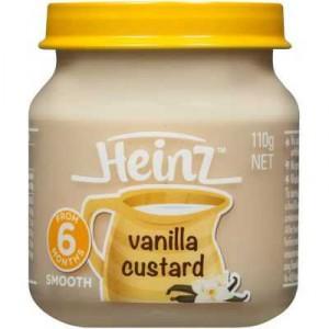 Heinz Smooth Food 6 Months Vanilla Custard