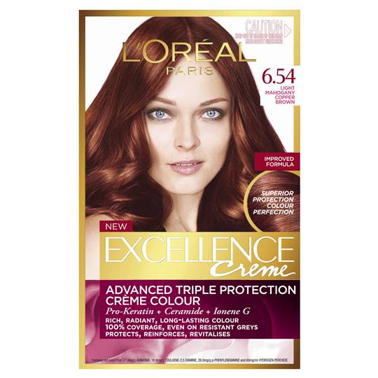 L'oreal Excellence Crème 6.54 Light Mahogany Copper
