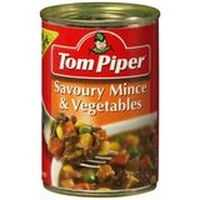 A review for Tom Piper Beef Savoury Mince Vegetable