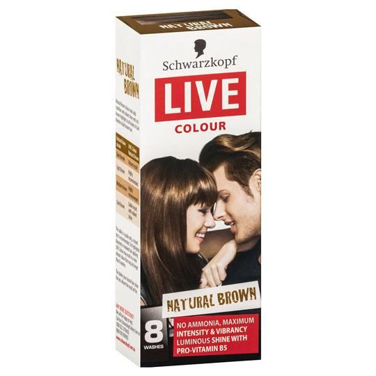 Schwarzkopf Live Colour Natural Brown