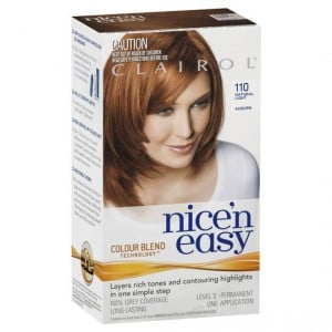 clairol nice n easy 110 natural light auburn ratings. Black Bedroom Furniture Sets. Home Design Ideas