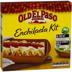 Old El Paso Dinner Kit Enchilada