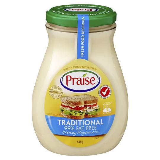 Praise Mayonnaise 97% Fat Free