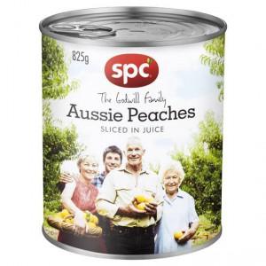 Spc Peaches Sliced In Juice