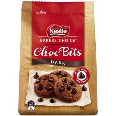 Nestle Baker's Choice Choc Bits Dark