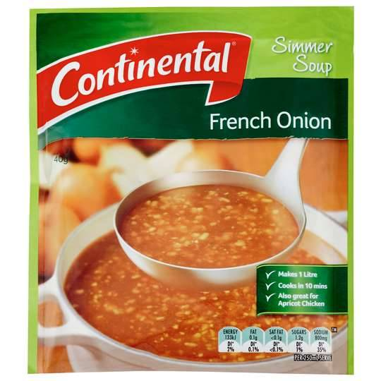 Stef reviewed Continental Simmer Soup French Onion