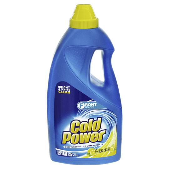 Cold Power Lemon Front Loader Laundry Liquid