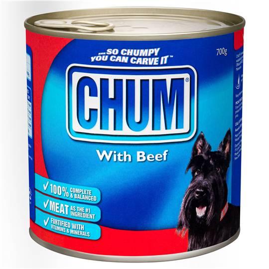 Chum Adult Dog Food Beef