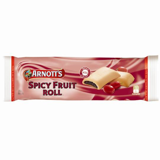 Arnott's Fruit Roll Slices Spicy