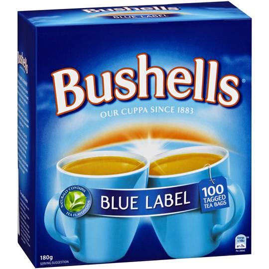 Bushells Blue Label Tea Bags