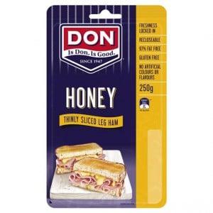 Don Ham Leg Honey Roasted Shaved