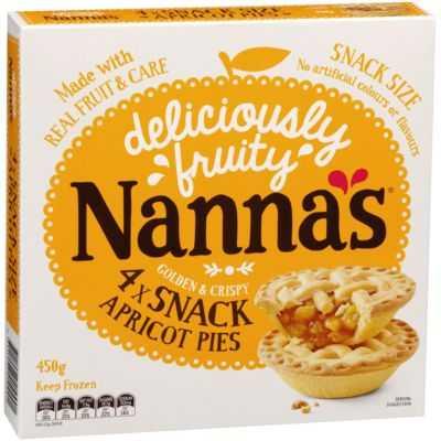 Nanna's Multipack Pies & Desserts Apricot Pie