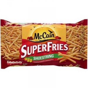 Mccain Shoestring Superfries