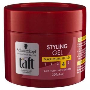 Taft Hair Gel Maximum Hold