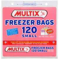 Multix Freezer Bags Small Tear Off