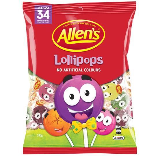 Allen's Lollypops